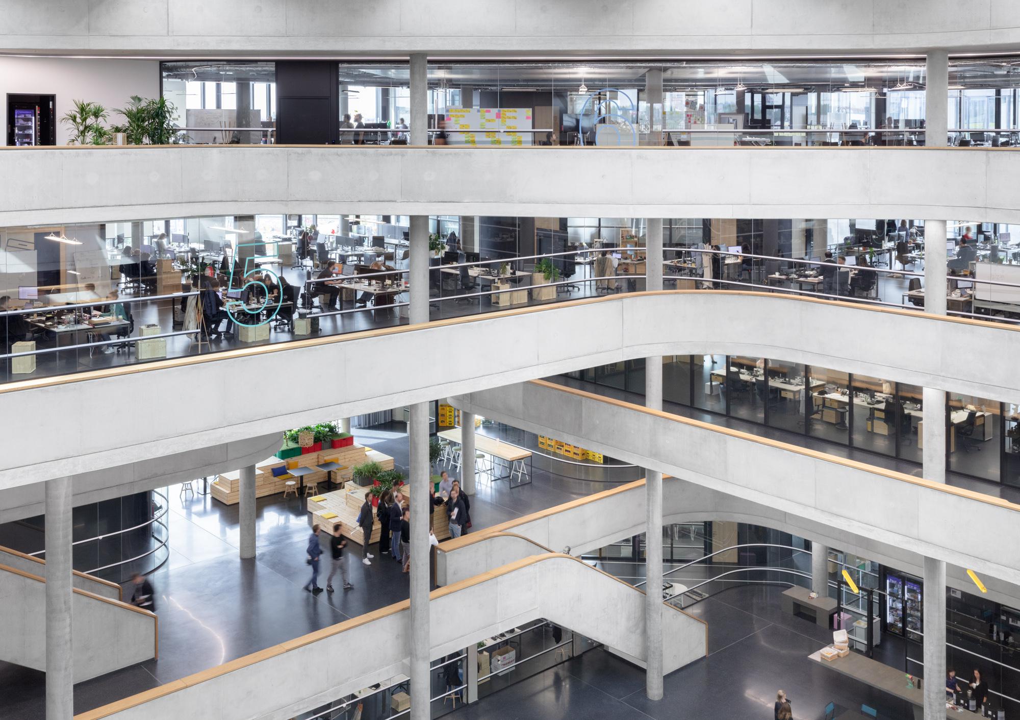 Zalando SE Berlin Campus Headquarters Innenansicht 13