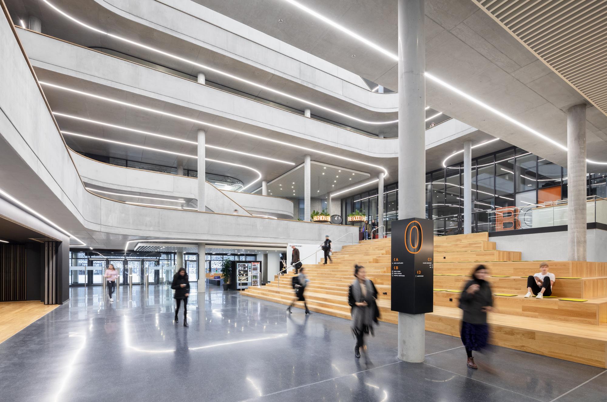 Zalando SE Berlin Campus Headquarters Innenansicht 14