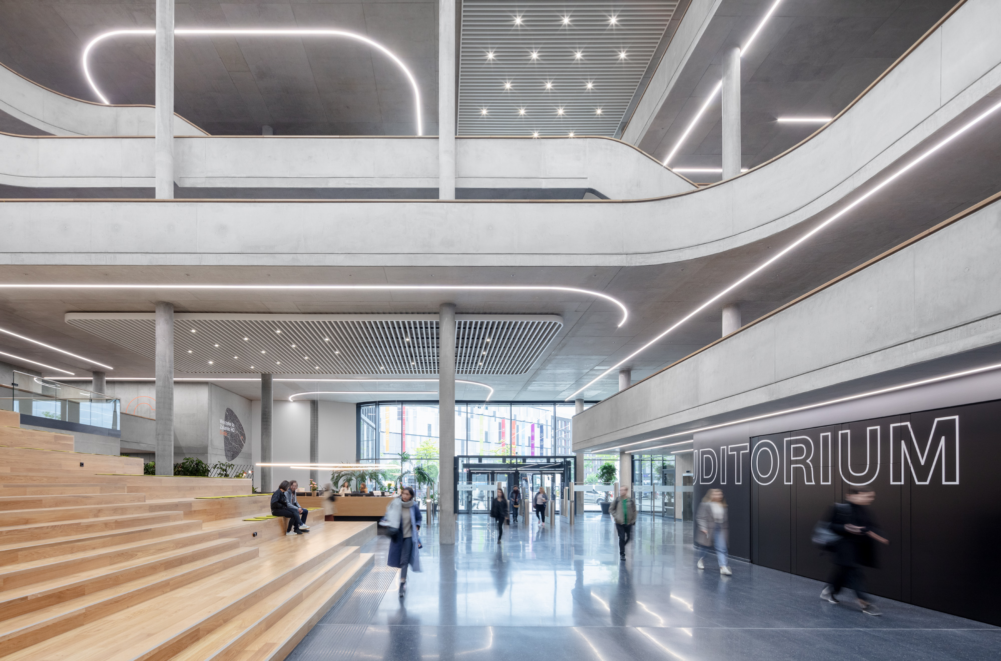 Zalando SE Berlin Campus Headquarters Innenansicht 15
