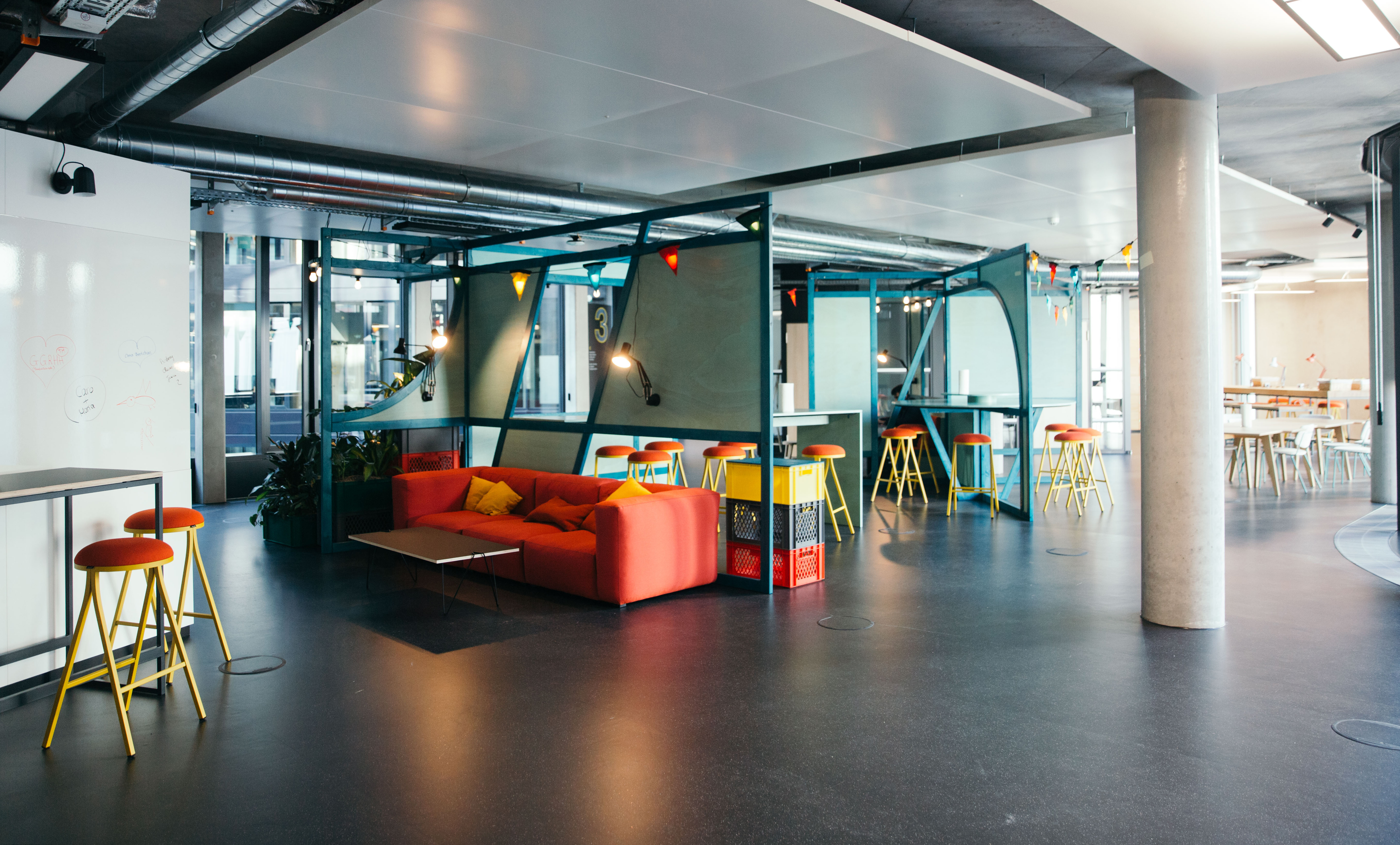 Zalando SE Berlin Headquarters Interior 9