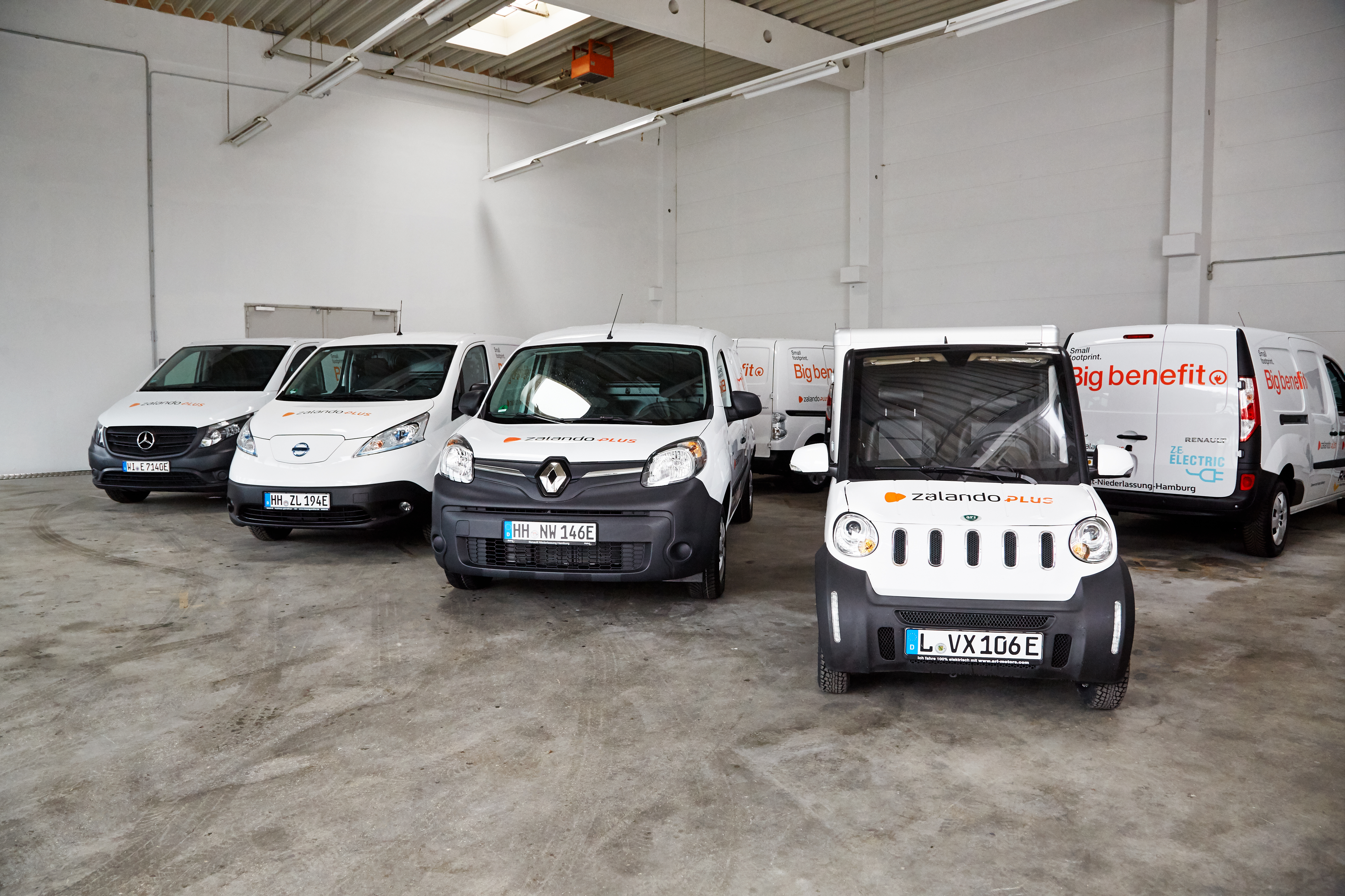 Zalando SE Press Release Electric Vehicles Hamburg 1