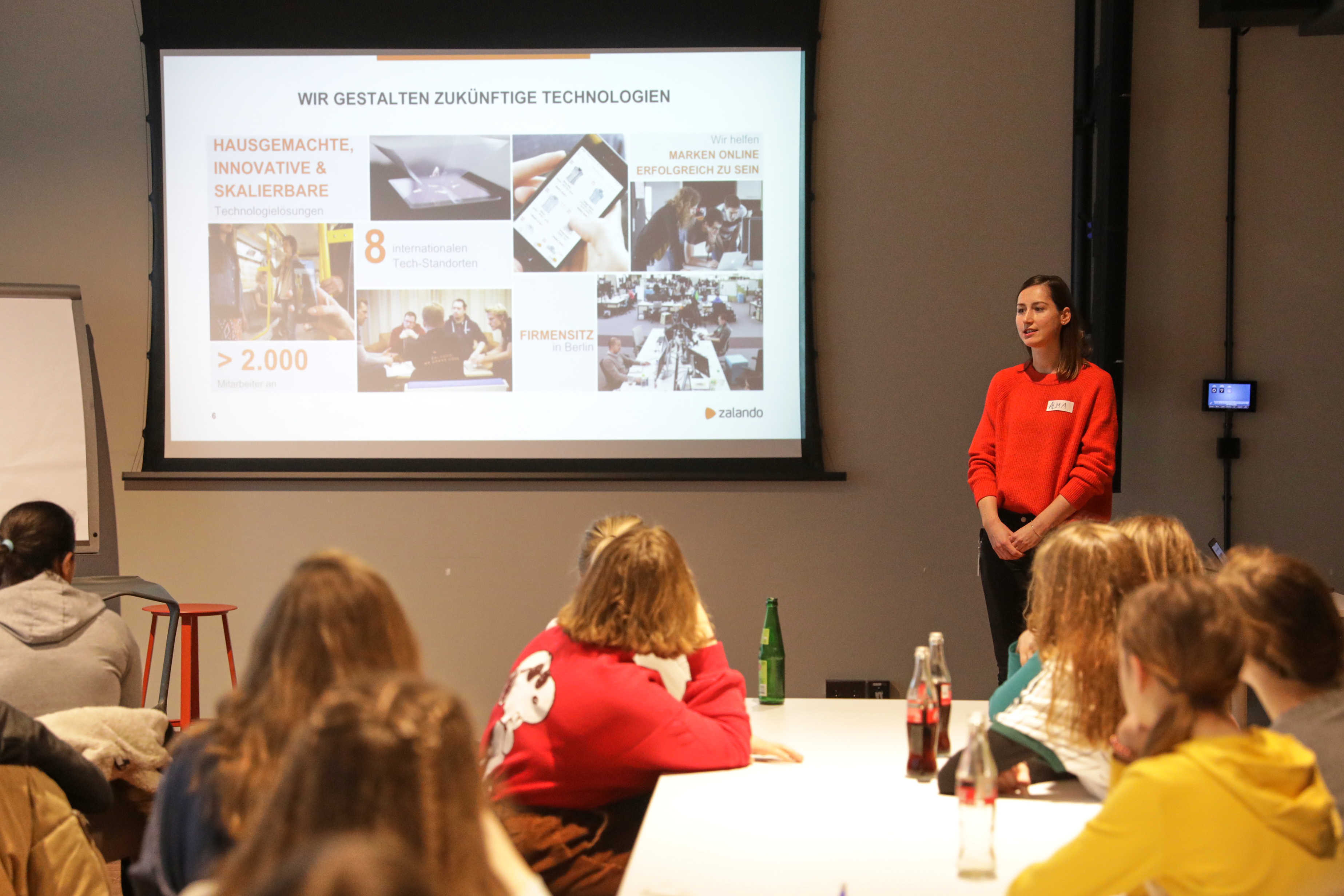 Zalando SE Newsroom Story Girls Day 2
