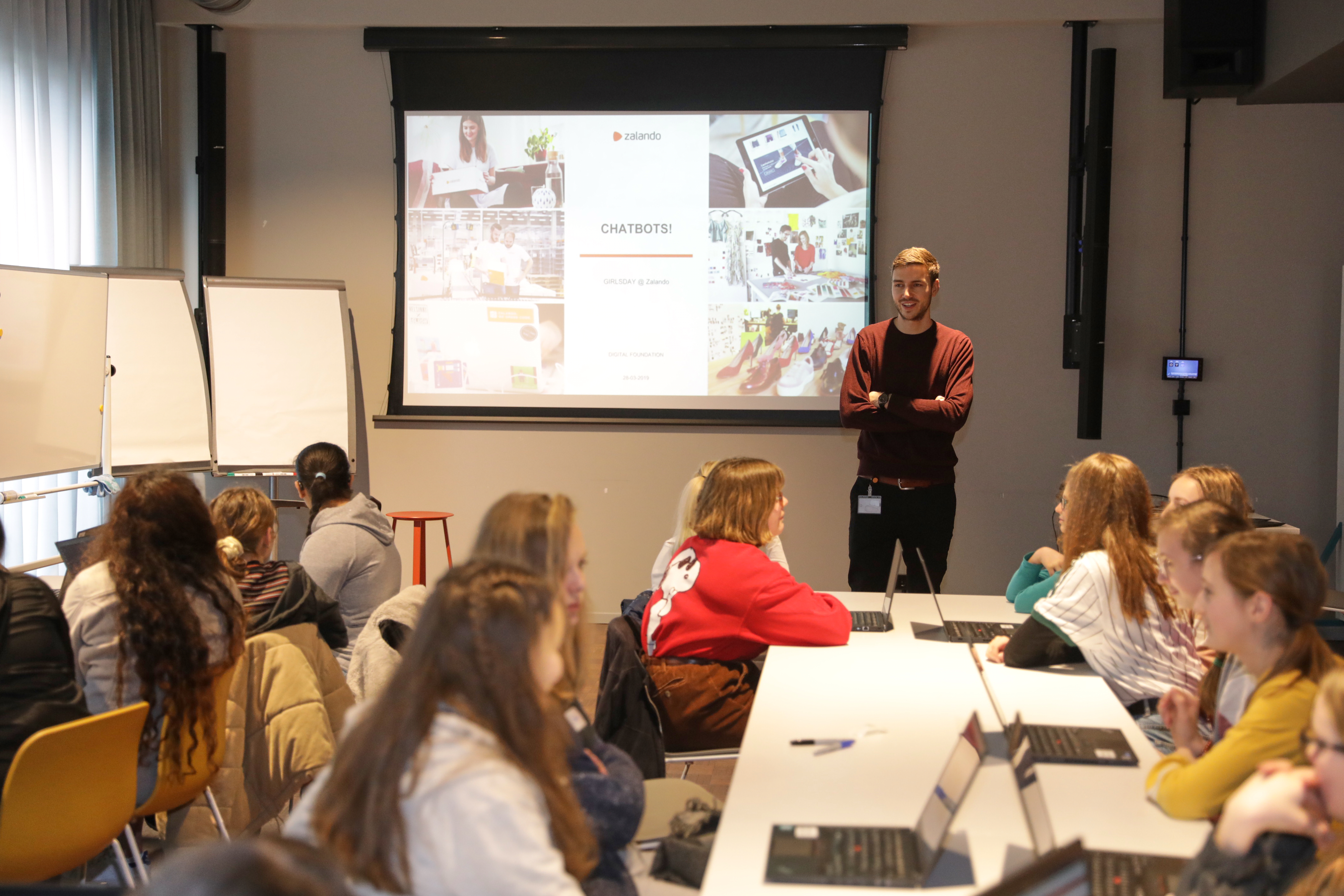 Zalando SE Newsroom Story Girls Day 4