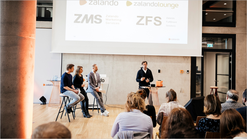 Zalando SE Earnings Call Template light