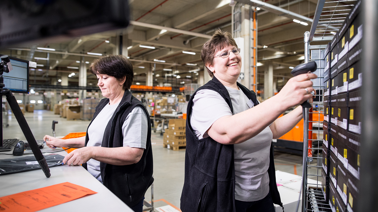 Zalando Fulfillment Center