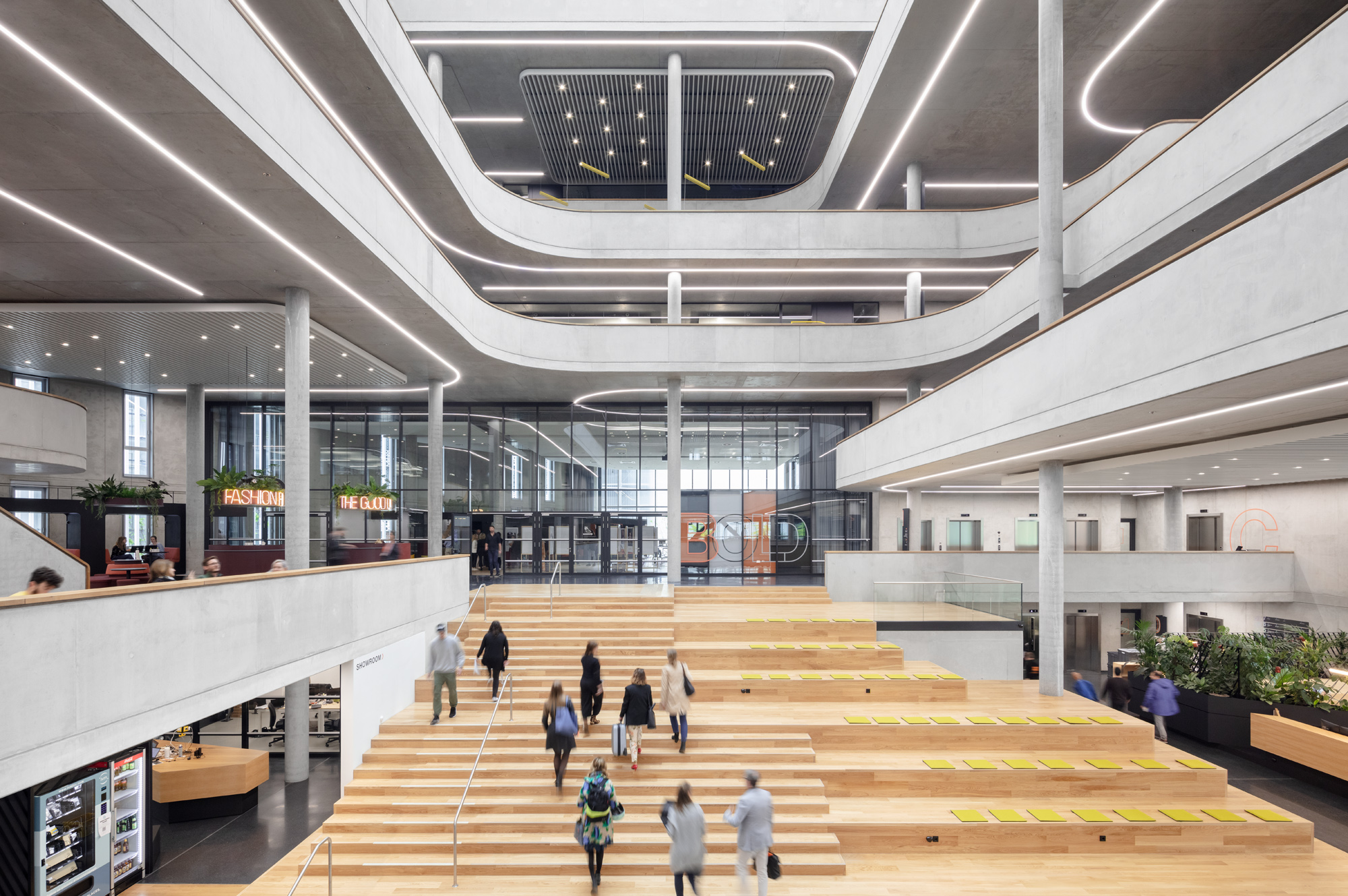 Zalando SE Berlin Campus Headquarters Innenansicht