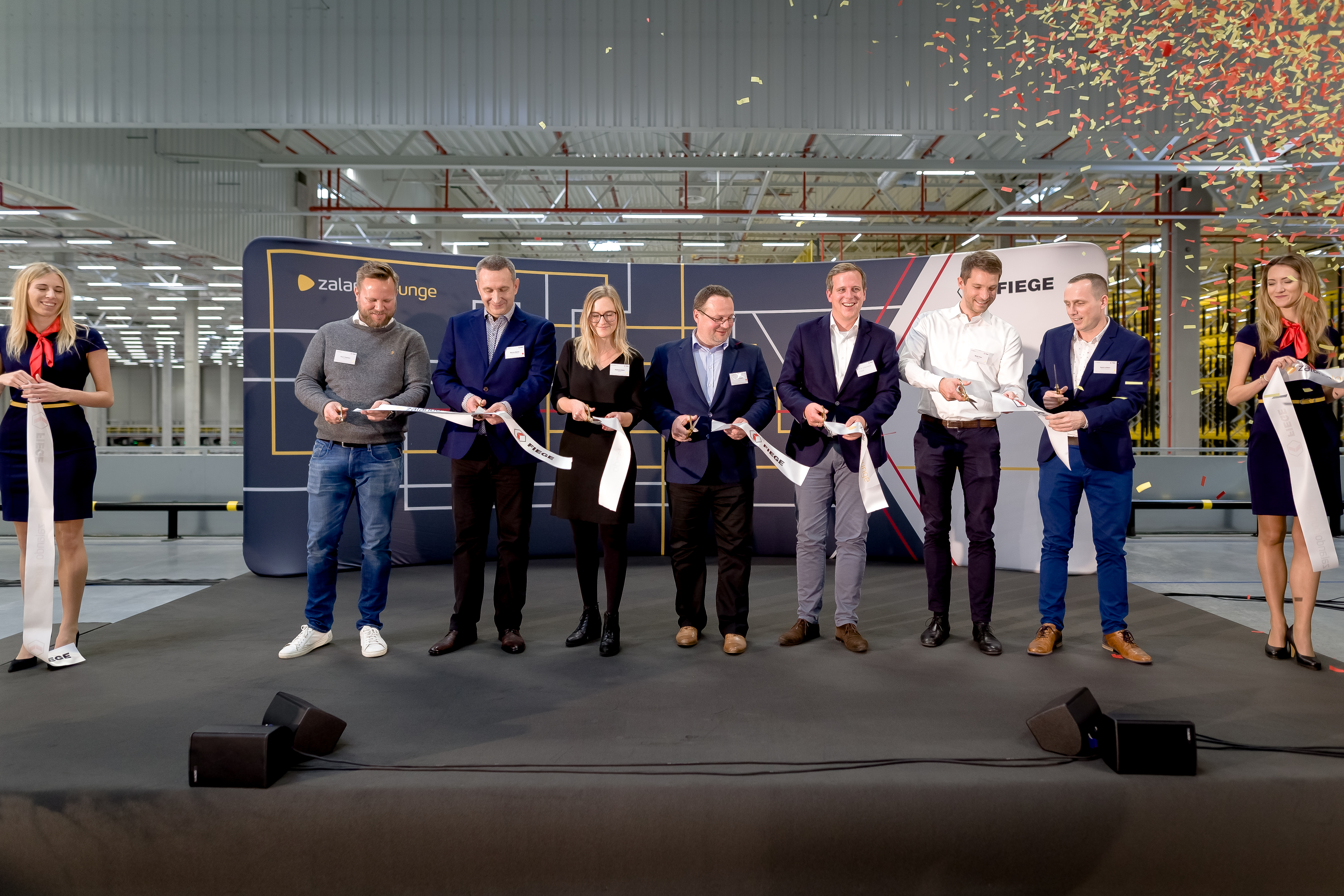 Zalando SE Olsztynek Ramp Up Official Opening