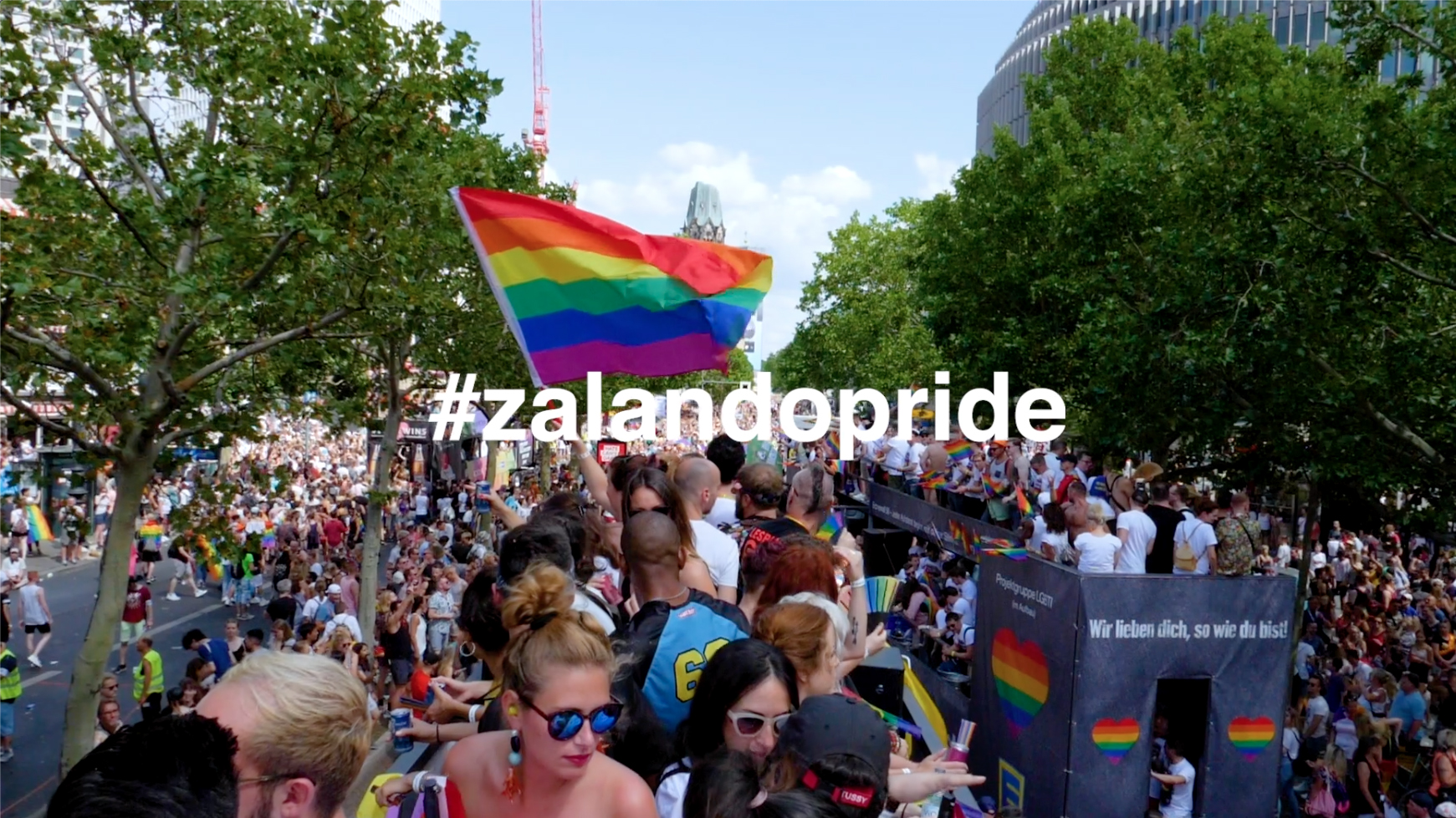 Zalando SE Berlin CSD 2019 video teaser image