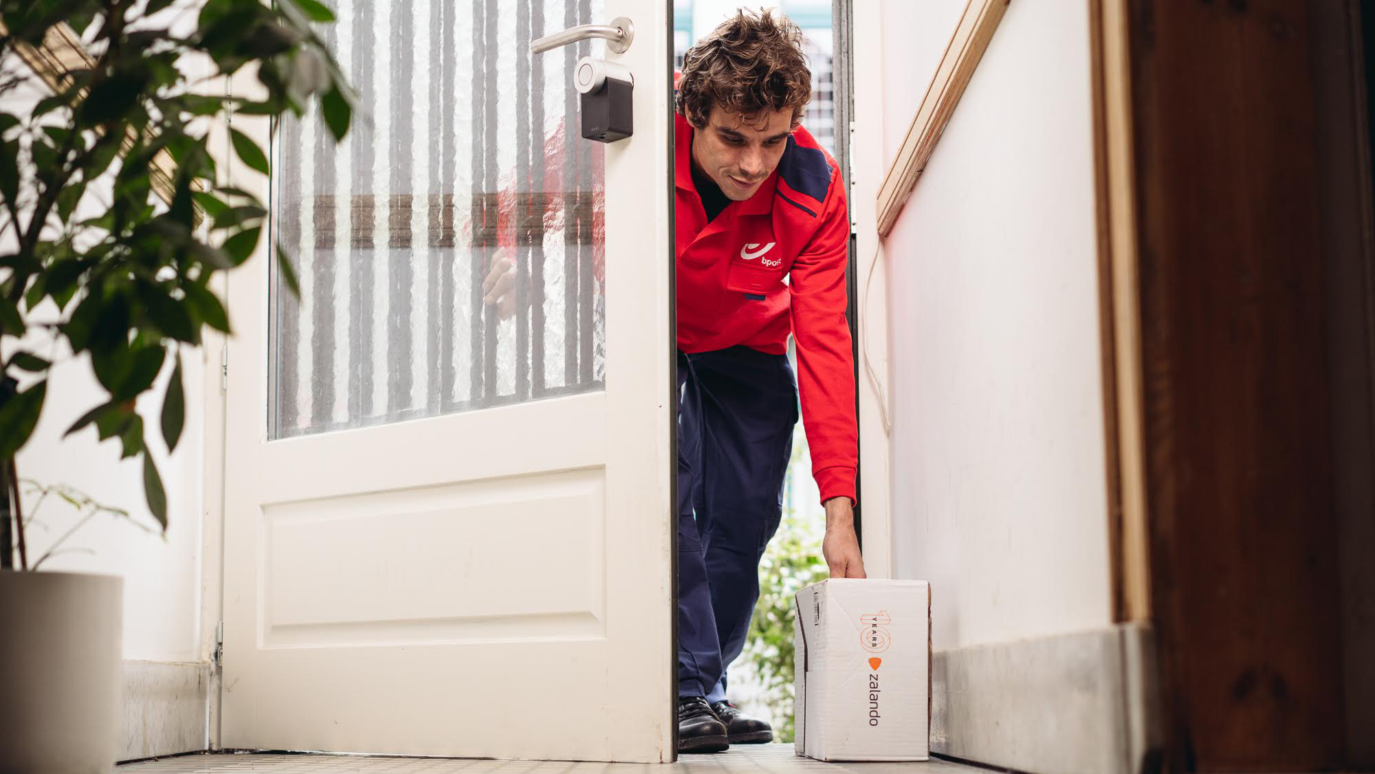 Zalando SE bpost in-home delivery