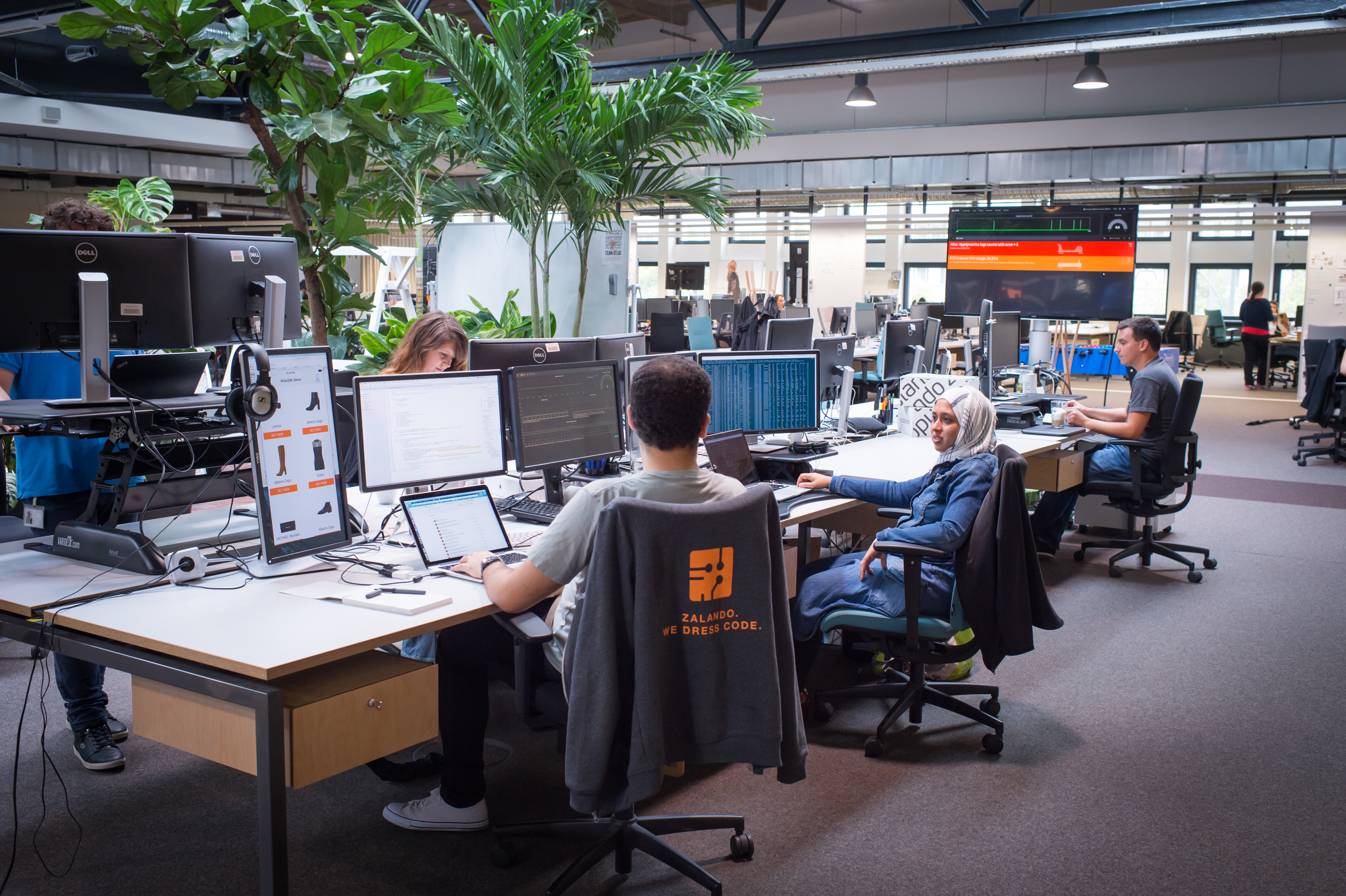 Zalando SE Tech Headquarter Berlin Mollstrasse