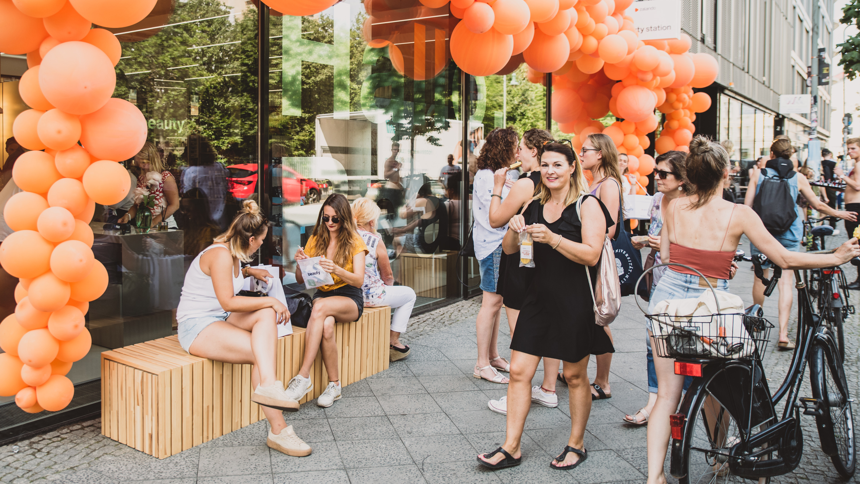 Zalando Beauty Station Opening