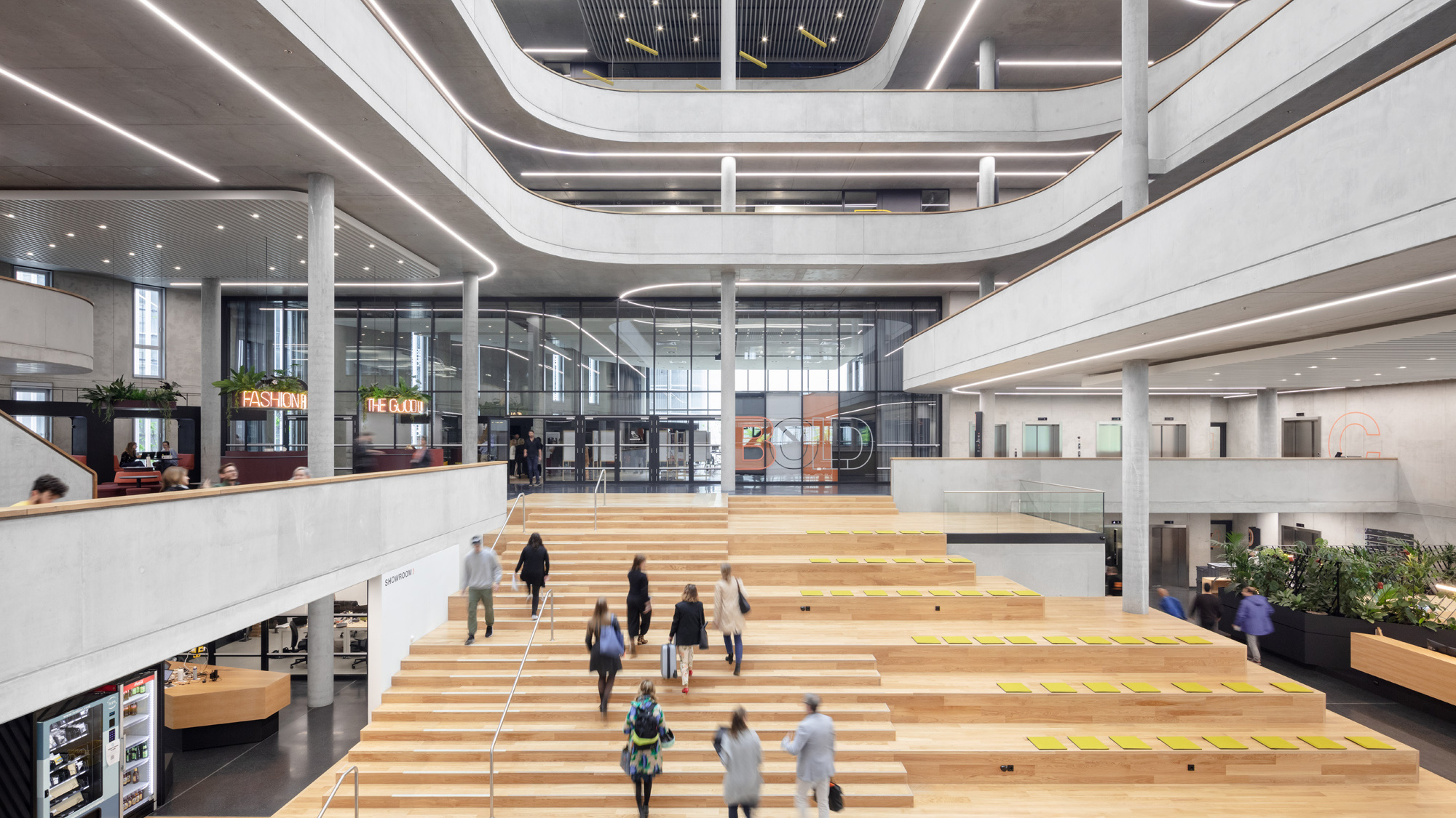 Zalando SE Headquarters Atrium