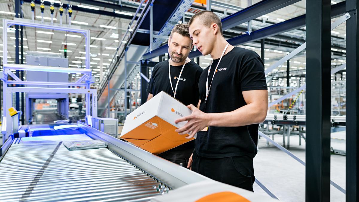 Zalando nimmt Logistikzentrum bei Szczecin in Betrieb