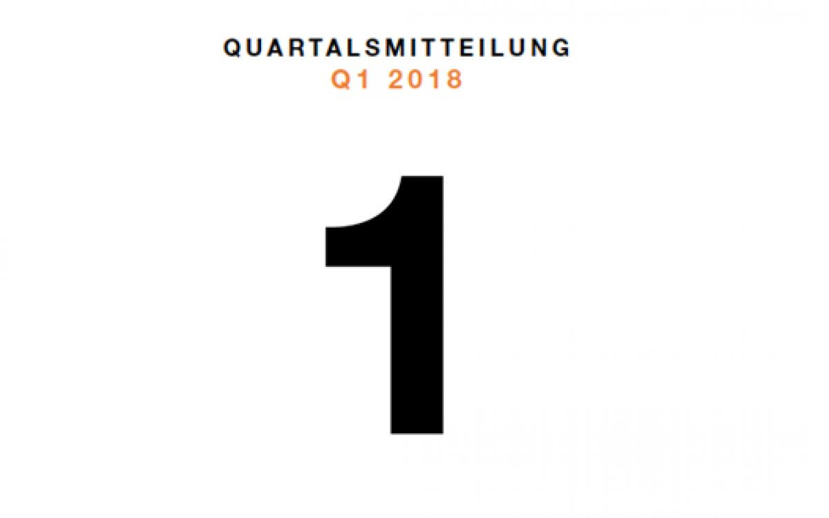 Zalando: Quartalsmitteilung Q1 2018 | Zalando Corporate